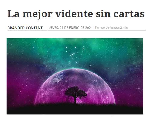 Vidente Casandra en los medios