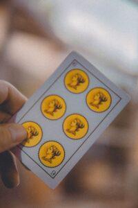 Tarot con baraja española